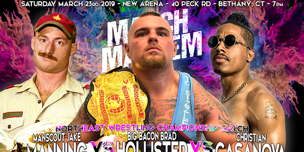 The Championship is on the Line! <a href='http://www.northeastwrestling.com/20190323.shtml'>Order Tickets Now! >></a>